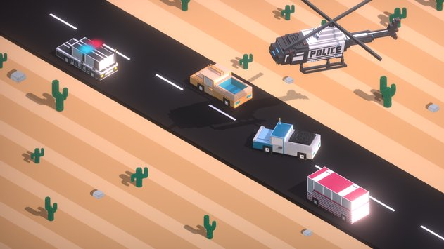 Boom Road 3d drive and shoot 4