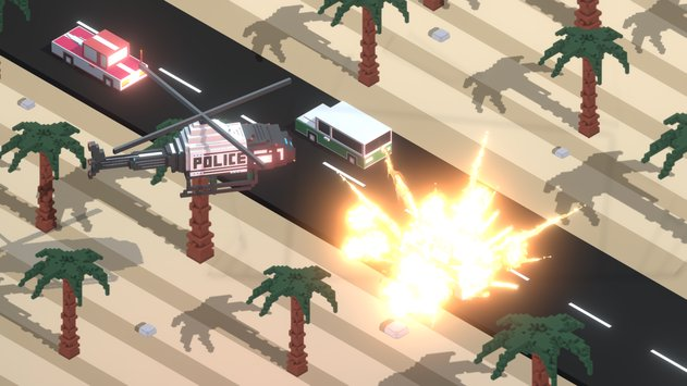 Boom Road 3d drive and shoot 6