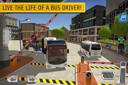 Bus Station Learn to Drive 1