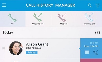 Call History Manager
