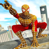 Flying Spider Hero City Rescue Mission
