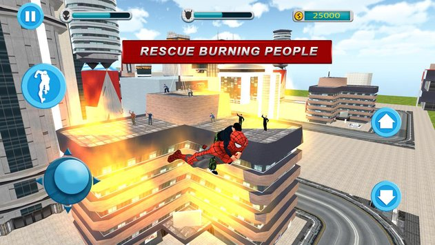 Flying Spider Hero City Rescue Mission1