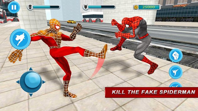 Flying Spider Hero City Rescue Mission2