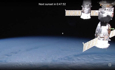 ISS HD Live View Earth Live