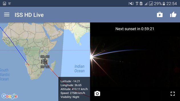 ISS HD Live View Earth Live19