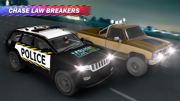 Police Car Chase Hot Pursuit 4