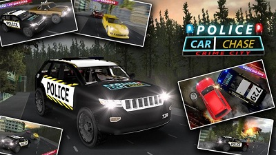 Police Car Chase Hot Pursuit logo