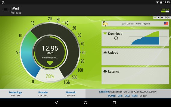 Speed Test QoS 3G 4G WiFi13