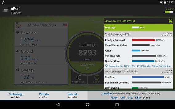 Speed Test QoS 3G 4G WiFi14