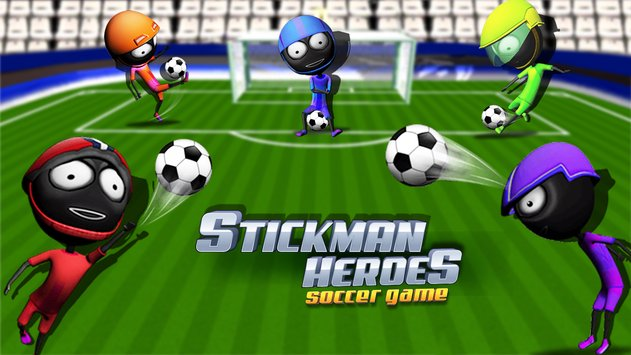 Stickman Heroes Soccer Game 1