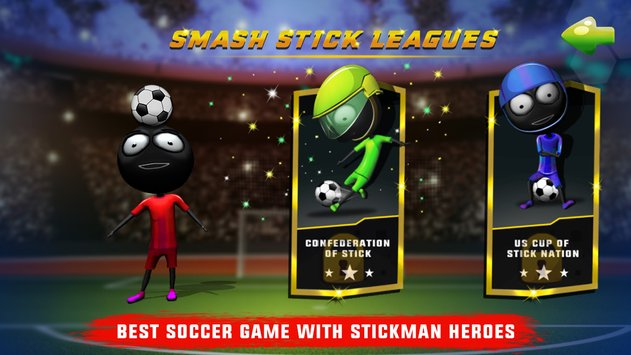 Stickman Heroes Soccer Game 2