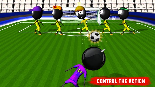 Stickman Heroes Soccer Game 3
