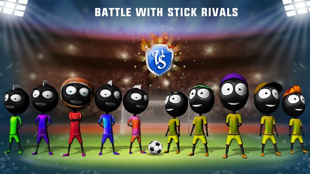 Stickman Heroes Soccer Game 5