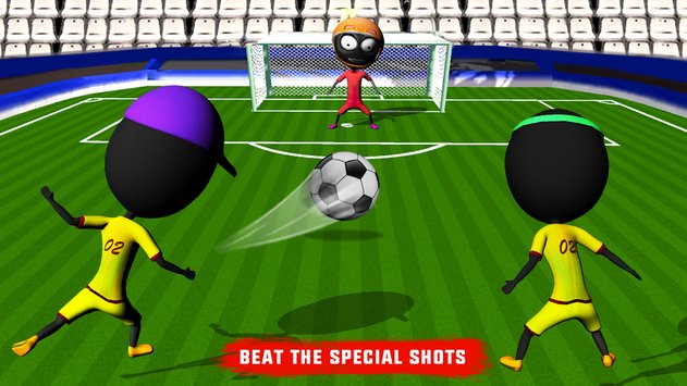 Stickman Heroes Soccer Game 6