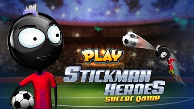 Stickman Heroes Soccer Game