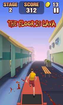 The Floor Is Lava 1