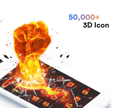Air Launcher-Themes, 3D Wallpaper for Android Free 2