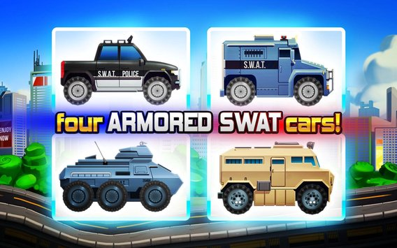 Elite SWAT Car Racing Army Truck Driving Game