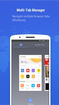 Minifier Browser - fast, small, weather & news 2