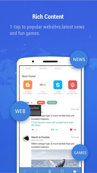 Minifier Browser - fast, small, weather & news