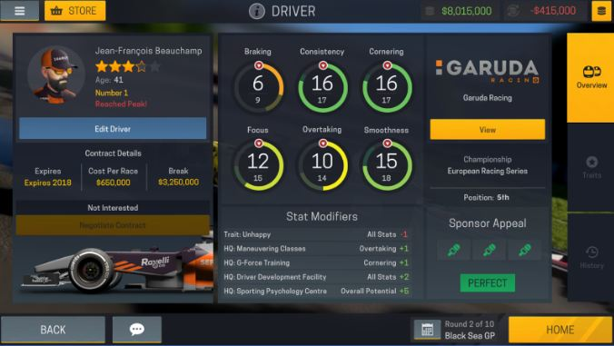 Motorsport Manager Mobile 2 5