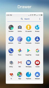 OO Launcher for Android O 8.0 1