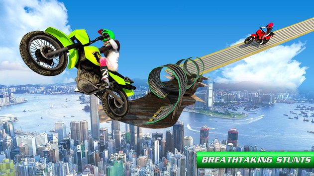Stunt Bike Impossible Tracks 3