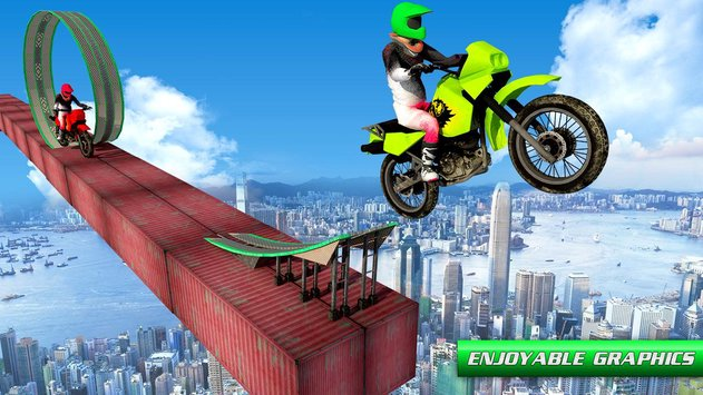 Stunt Bike Impossible Tracks 4