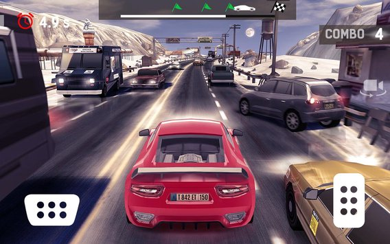 Traffic Xtreme 3D Fast Car Racing Highway Speed5