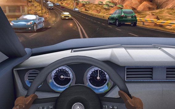 Traffic Xtreme 3D Fast Car Racing Highway Speed6