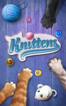 Knittens Sweet Match 3 Puzzles & Adorable Kittens 4