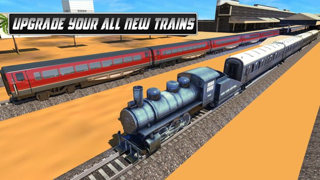 Train Games 2017 Train Racing 3
