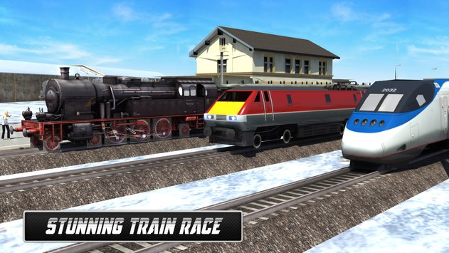 Train Games 2017 Train Racing 8
