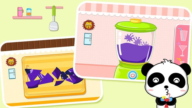 Baby Panda Chef - Educational Game for Kids 2