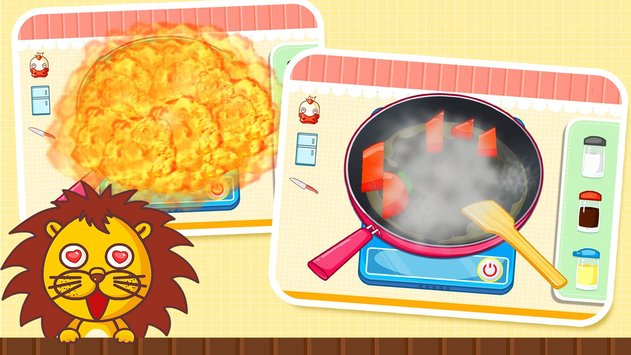 Baby Panda Chef - Educational Game for Kids 3