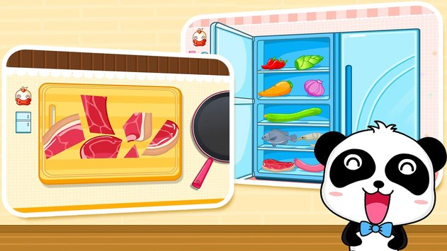 Baby Panda Chef - Educational Game for Kids 5