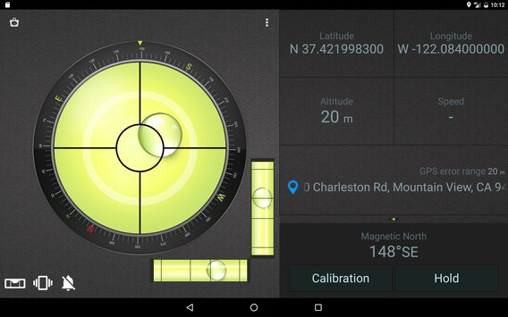 Compass Level GPS8