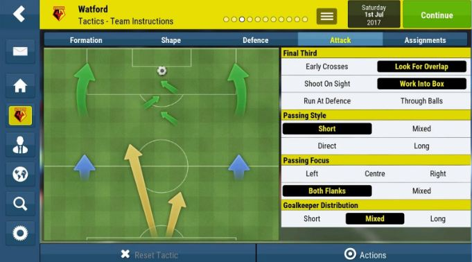Football Manager Mobile 2018 4
