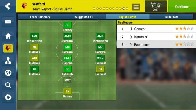 Football Manager Mobile 2018 7