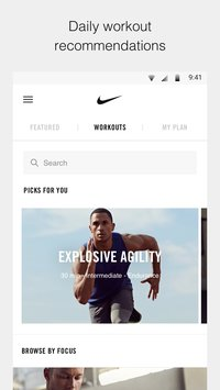 Nike Training Club Workouts Fitness Plans4