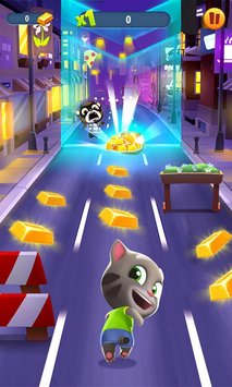 Talking Tom Gold Run1