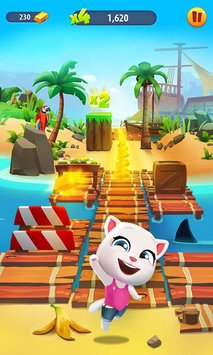 Talking Tom Gold Run2
