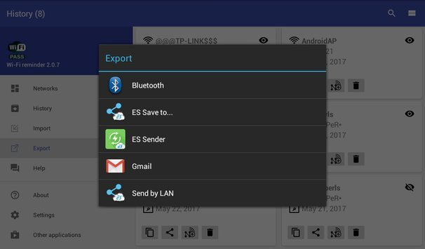 WiFi password manager13