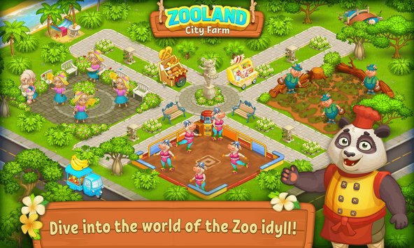 Farm Zoo Happy Day in Animal Village and Pet City3