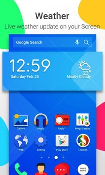 Mega Launcher Home Screen5