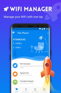 Net Master WiFi Speed Test Manager1