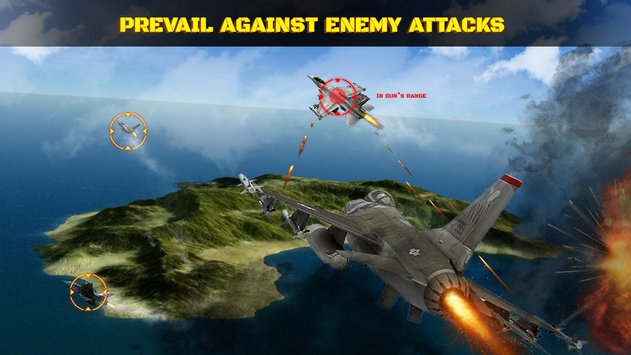 Wings in Sky War Dogfight and Gunship Battle1
