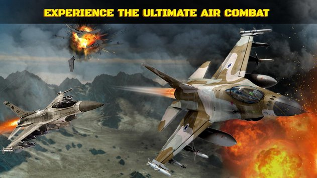 Wings in Sky War Dogfight and Gunship Battle2