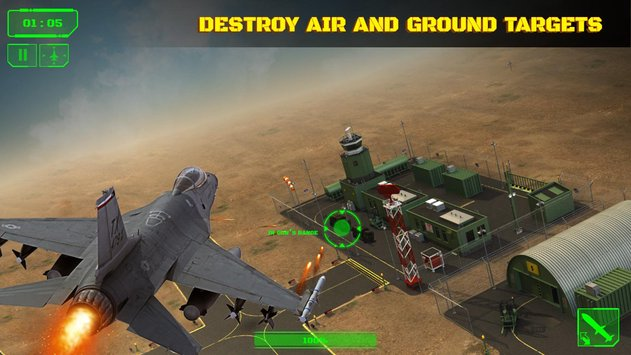 Wings in Sky War Dogfight and Gunship Battle3