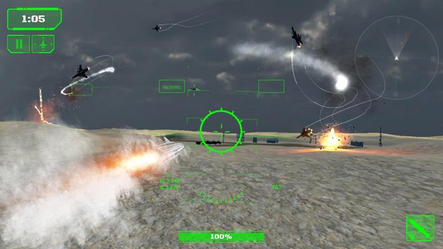 Wings in Sky War Dogfight and Gunship Battle4